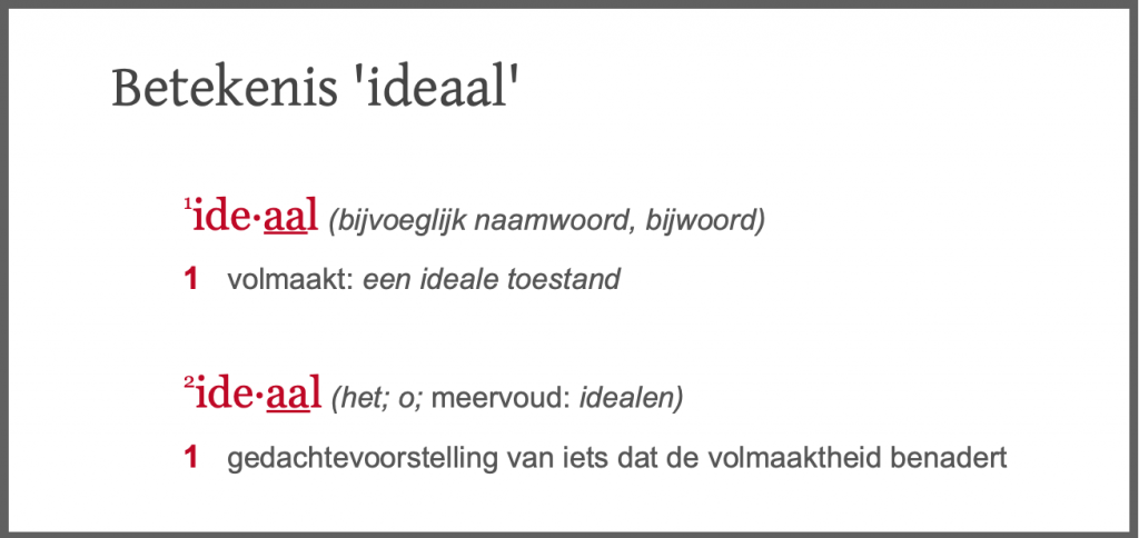 Ideale kwaliteitsmanager